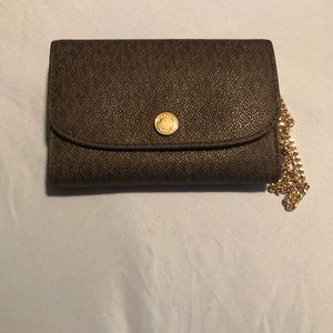 Authentic Michael Kors signature wristlet-3 piece